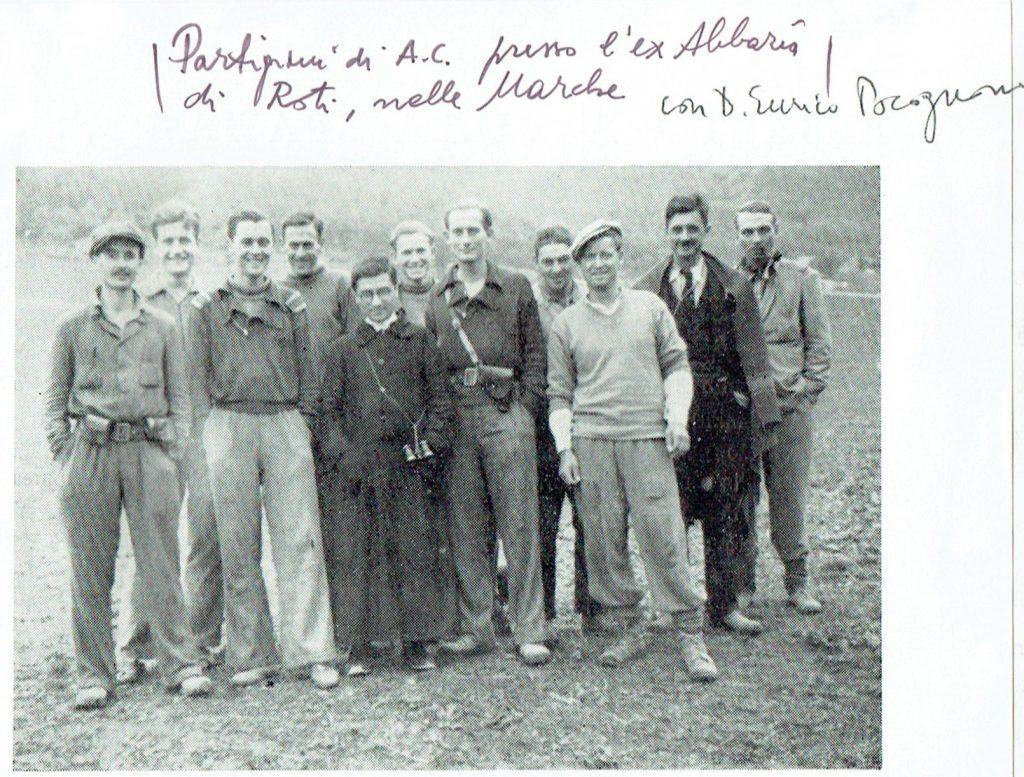 Don Enrico Pocognoni tra i partigiani