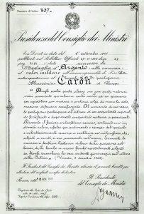 Medaglia d'argento al valore militare