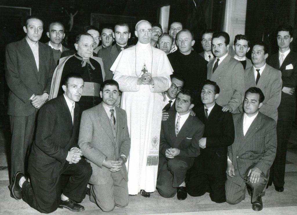 Udienza da Pio XII
